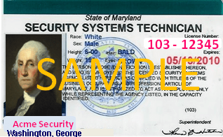 Security license GW
